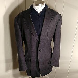Tommy Hilfiger Charcoal Wool Blazer
